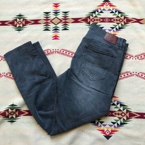 Madewell slim boyfriend gray jeans denim 27